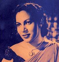 Portrait photo of the artist Rukmani Devi